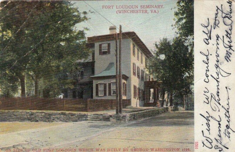 WINCHESTER, Virginia, 1900-1910s; Fort Loudoun Seminary