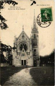 CPA DOLE Église du Mont Roland (447219)