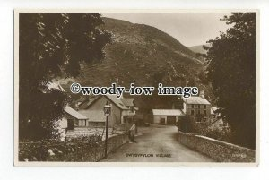 tq1288 - Early View of the Small Village of Dwygyfylchi, in Conway - postcard