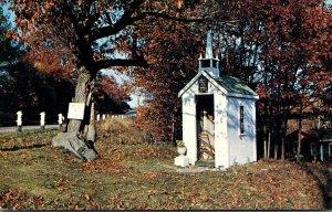 Maine Wiscasset Union Church Smallest Church In The World 1961