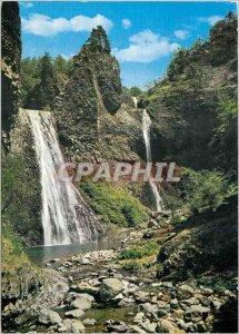 Postcard Modern Cascade Ray Pic Ardeche
