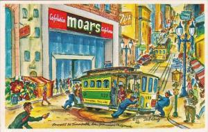 California San Francisco Moars Cafeteria