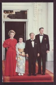 Ronald Reagan and Zenko Suzuki Post Card 3358