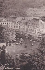 GERMANY, 1900-1910's; Bad Berrich, Kurplatz