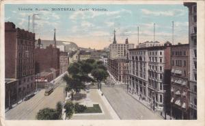 Victoria Square, Montreal, Quebec, Canada, PU-1924