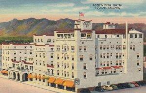 TUCSON , Arizona , 30-40's , Santa Rita Hotel