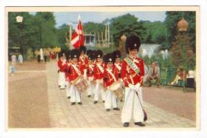 Copenhagen. The Boys Garde of Tivoli, Danmark, PU-1956