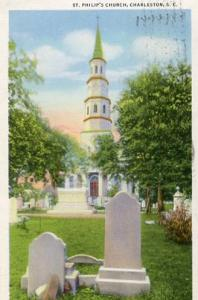 SC - Charleston, St. Philip's Church