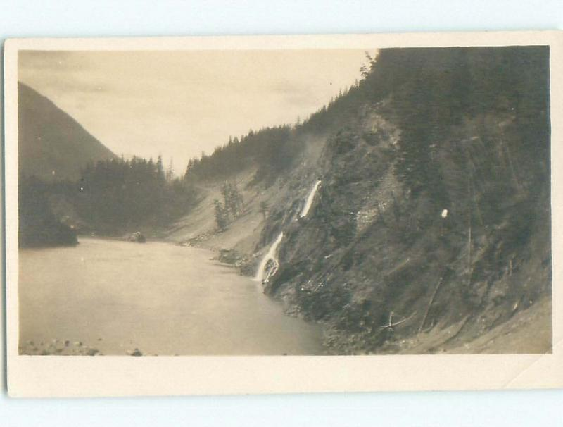 Pre-1918 rppc NICE VIEW Boothroyd Boston Bar & North Bend & Hope BC W1092