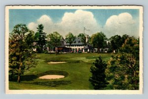 Asheville NC, Biltmore Forest Golf Country Club, Vintage North Carolina Postcard