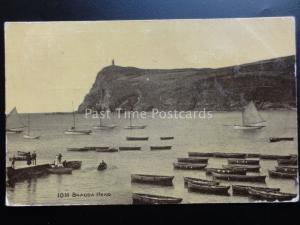 Isle of Man: Bradda Head c1910 - Old Postcard by MANX Vannin Veg Veen 6282