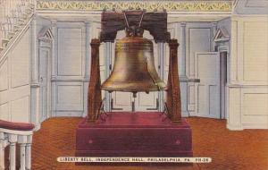 Liberty Bell Independnce Hall Philadelphia Pennsylvania 1943