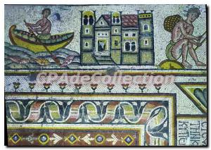 Postcard Modern Mosaic At Mukhayat