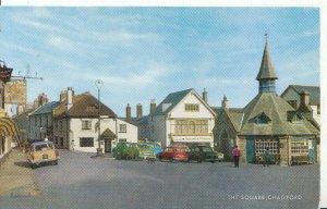 Devon Postcard - The Square - Chagford - Newton Abbot - Ref 4406A