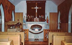 WV - Horse Shoe Run, Our Lady of the Pines- Interior