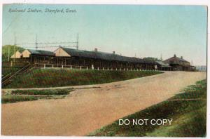 Railroad Station, Stamford Conn