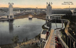 Electric Park, Kansas City, Missouri, Early Postcard, Used in 1911