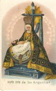 Nuestra Señora. de las Angustias Olf vintage Spanish religious postcard