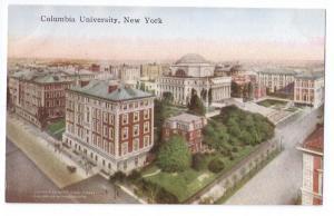 Columbia University New York NY Vintage ca 1910 Postcard