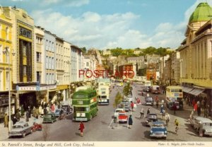 1970 ST. PATRICK'S STREET, BRIDGE and HILL, CORK CITY, IRELAND Continental-size