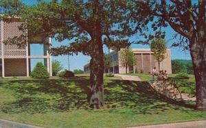 North Carolina Asheville Campus Scene Science Building At Right Asheville - B...