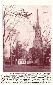 Connecticut   Thompson , the Common and Congregational Church