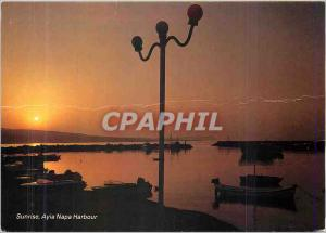 Postcard Modern Ayia Napa Sunrise Harbor