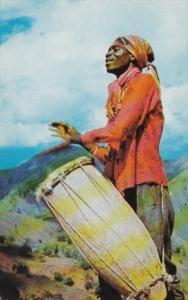 Haiti Typical Drummer
