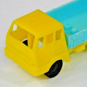 Yellow Blue Plastic Kids Toy Truck MCM Two Tone