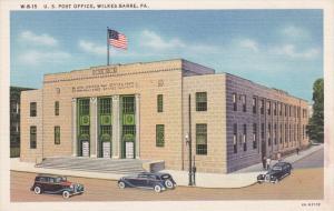Post Office , WILKES-BARRE , Pennsylvania, 30-40s