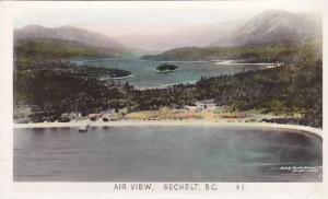 RP, Air view, Sechelt, B.C., Canada,  00-10s