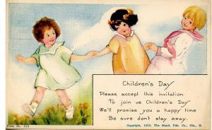 Children's Day Invitation