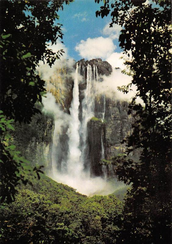 Venezuela Salto Angel Gran Sabana Angel Fall World's Highest Waterfall