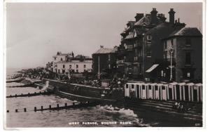 Post Card Sussex BOGNOR REGIS West Parade Norman - Shoesmith & Etheridge