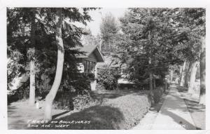 RP; EATONIA , Sask., PU-1957; Trees and Boulevard, 2nd Ave. West