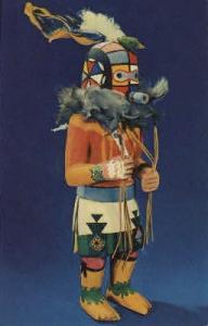 Hopi Kachina Doll Indian, Indians Postcard Postcards  Hopi Kachina Doll