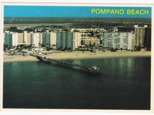 Ocean Front Hotels, Fishing Pier, POMPANO BEACH, Florida, 50-70´