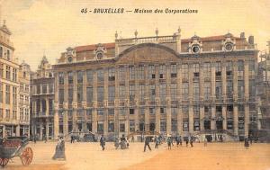 Bruxelles Belgium, Belgique, Belgie, Belgien Maison des Corporations Bruxelle...
