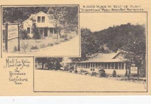 GATLINBURG , Tennessee , 1930s ; M7O Tea Room & Craft Shop