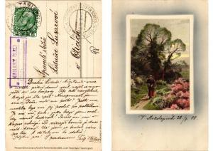 CPA In der Freien Natur Meissner & Buch Litho Serie 1526 (730702)