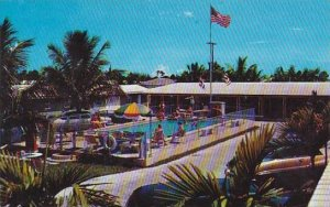 Florida Miami Dankers Motel Court With Pool