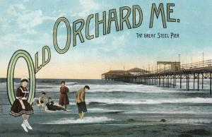 OLD ORCHARD BEACH , Maine , 00-10s ; The Great Steel Pier
