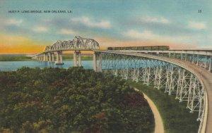 NEW ORLEANS , Louisiana,  30-40s ; Huey P. Long Bridge