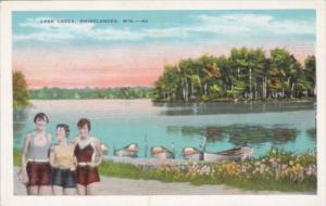 Wisconsin Rhinelander Scene At Lake Creek