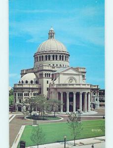 Unused Pre-1980 CHURCH SCENE Boston Massachusetts MA p3917