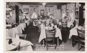 RP: Colonial Dining Room , Ye Olde Stage House , BRECKSVILLE , Ohio , 1930s