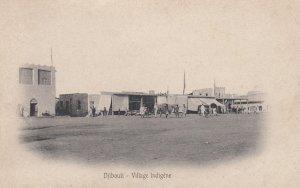 DJIBOUTI , 00-10s ; Village Indigene