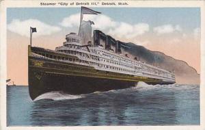 Steamer City of Detroit III, Detroit, Michigan, 00-10s