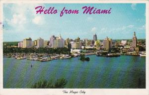 Florida Miami Skyline 1960
