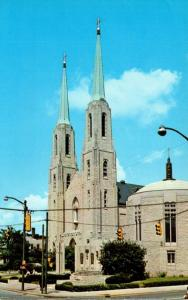 Indiana Fort Wayne Cathedral Of Immaculate Conception and Mac Dougal Chapel
